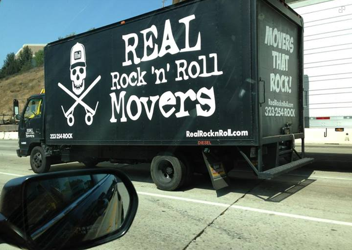 The professional movers in the valley