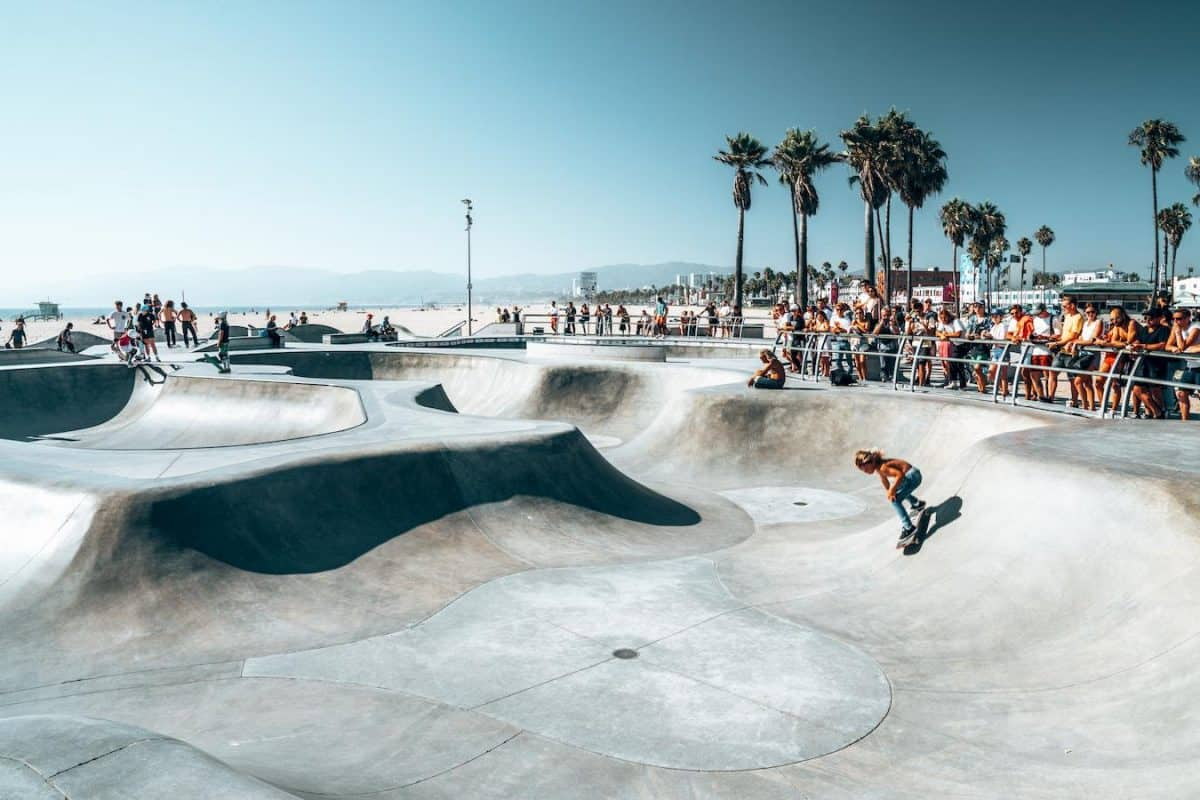 los angeles offers many things venice beach skateboarding culture