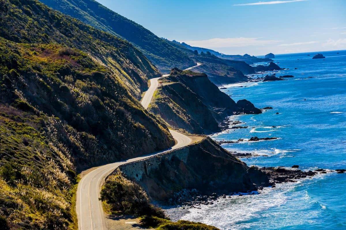 photo of scenic highway 1 san francisco los angeles